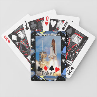 Gravity Fails Playing Cards! Bicycle Playing Cards