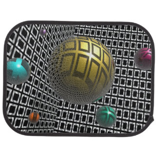 Gravity Free Spheres Car Mat
