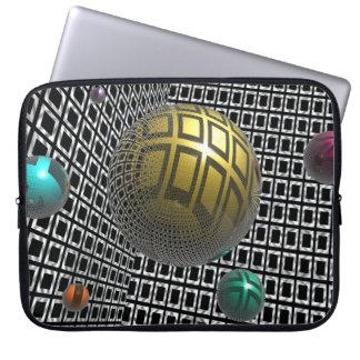 Gravity Free Spheres Laptop Sleeve