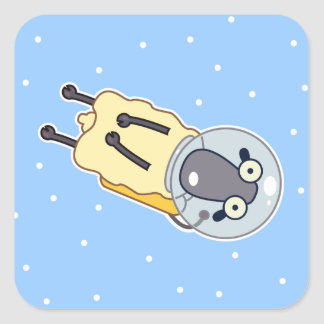 Gravity Good Sheep Square Sticker