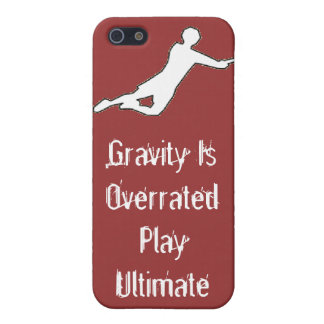 Gravity is Overrated iPhone SE/5/5s Cover