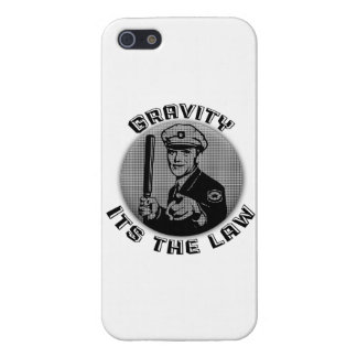 Gravity Its The Law Cover For iPhone SE/5/5s