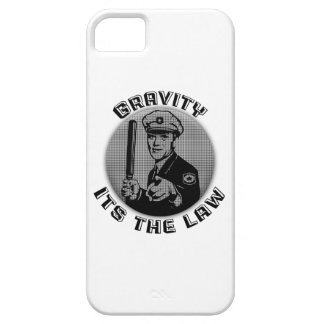 Gravity Its The Law iPhone SE/5/5s Case