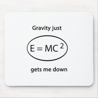 gravity just gets me down mouse pad