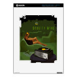 Gravity Mine _ The Green Scene Decals For iPad 3