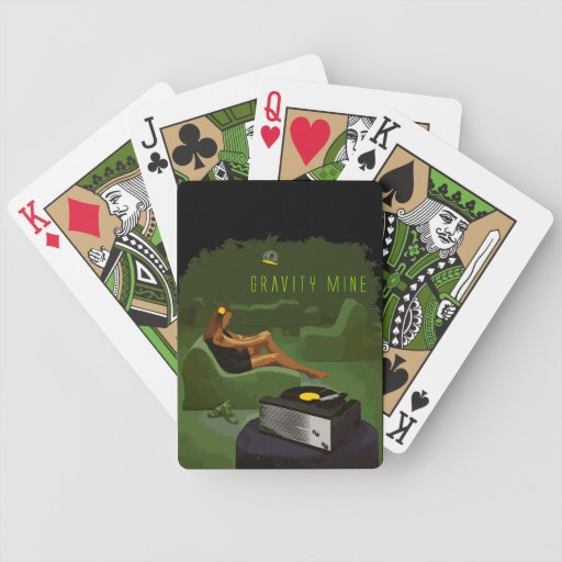 Gravity Mine _ The Green Scene Deck Of Cards