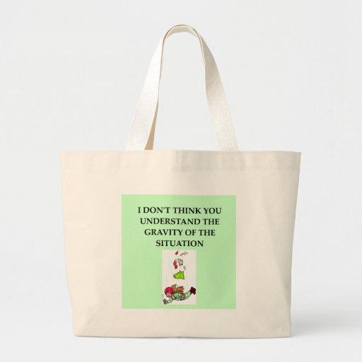 GRAVITY.png Canvas Bag