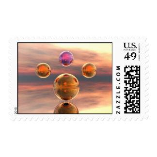 Gravity Postage Stamp