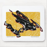 GRAVITY-SLED-in-Yellow Mouse Pad