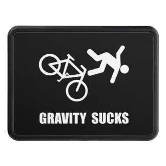 Gravity Sucks Bike Hitch Cover