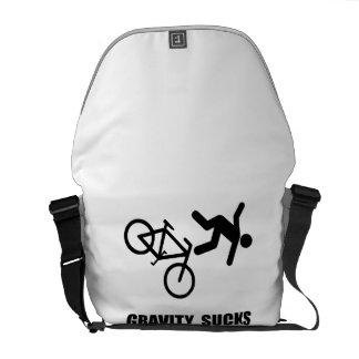 Gravity Sucks Bike Messenger Bag