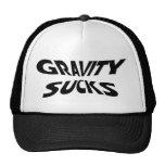 Gravity Sucks Mesh Hats