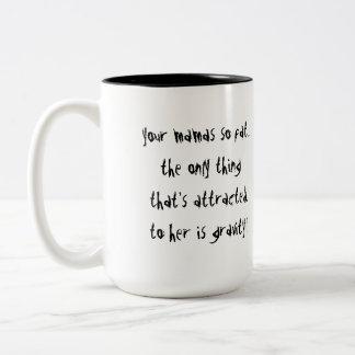 Gravity Two-Tone Coffee Mug