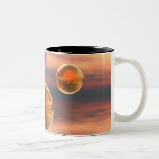 Gravity Two-Tone Coffee Mug