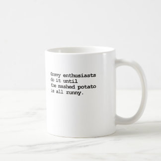 Gravy innuendo mug