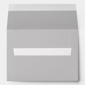 Gray A7 Envelope