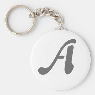 Gray-A keychain