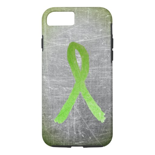 Gray Abstract Lyme Disease Awareness Phone Case