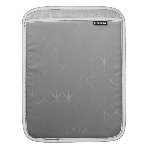 Gray Abstract. Misty Grid Design Background. Sleeves For iPads