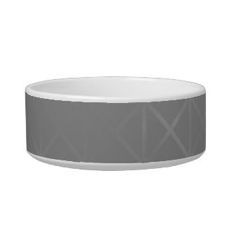 Gray Abstract. Misty Grid Design Background. Pet Bowls