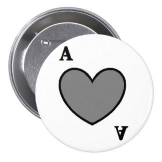 Gray Ace Button