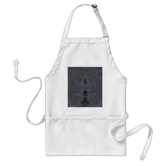 gray adult apron