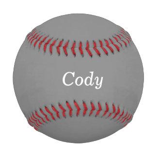 Gray Allstar Personalized Baseball