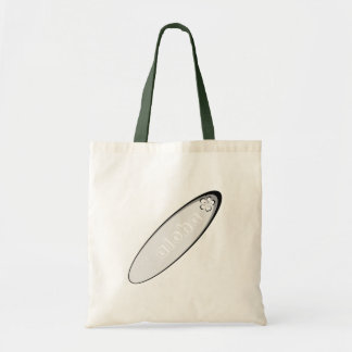 Gray aloha hibiscus design tote bags