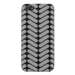 Gray and Black Chevron Pattern. Cover For iPhone 5