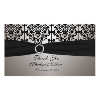 Wedding Gift Tag Lines : Vintage Teal and Brown Damask Wedding Invitation