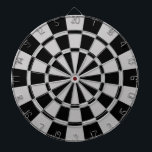 """Gray And Black Dartboard With Darts<br><div class=""""desc"""">Gray And Black Dart Board</div>"""