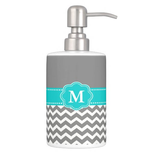 Hot Selling Practical White Toothbrush Holder   Gray and Blue Chevron  Monogram Bathroom Set  Blue Gray Bathroom Ideas to Bedazzle. Blue And Gray Bathroom Accessories. Home Design Ideas