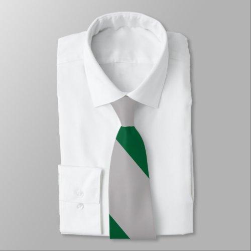 Gray and Ivy Broad University Stripe Neck Tie