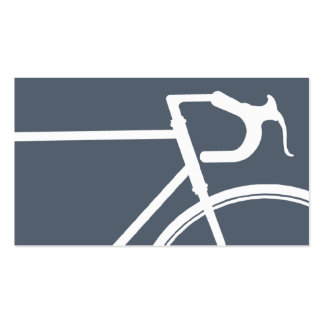 Gray and white bicycle Business Card