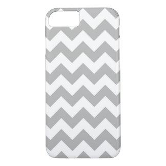 Gray and White Chevron iPhone 7 case