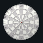"Gray And White Dartboard With Darts<br><div class=""desc"">Gray And White Dart Board</div>"