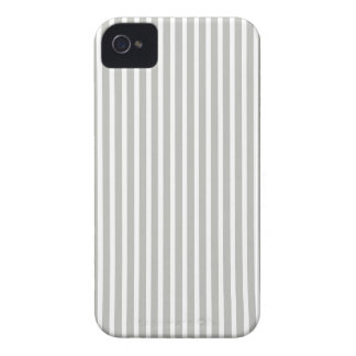 Gray and White Fine Stripe Iphone 4/4S Case