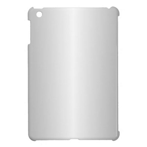 Gray and White Gradient Cover For The iPad Mini