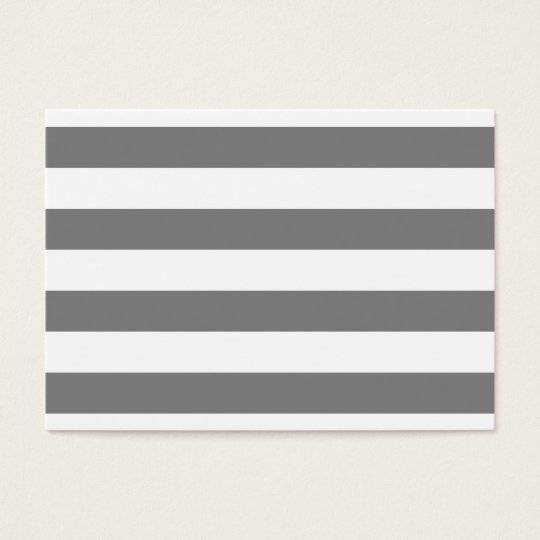 Gray and White Stripes Business Card