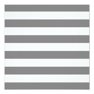 Gray and White Stripes Card