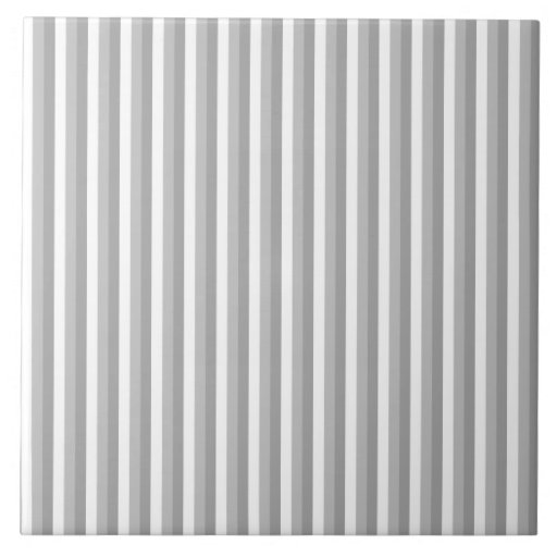 Gray and white stripes...