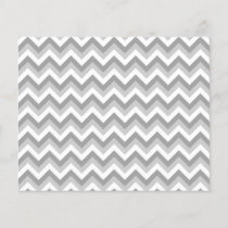 Gray and White Zigzag Pattern.