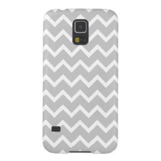 Gray and White Zigzag Stripes Galaxy Nexus Case