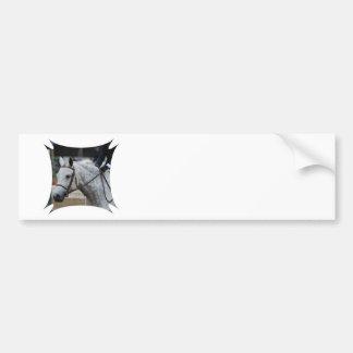 Gray Appaloosa Horse Bumper Sticker Car Bumper Sticker