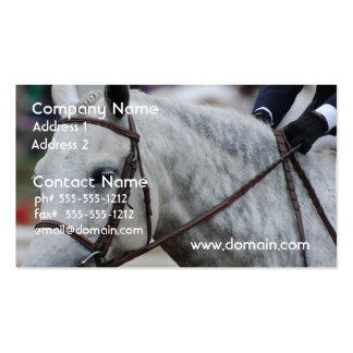 Gray Appaloosa Horse Business Cards