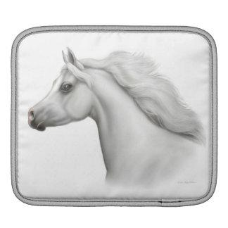 Gray Arabian Horse iPad Rickshaw Sleeve