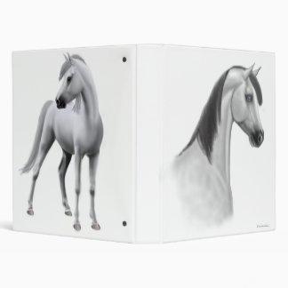 Gray Arabian Horses Avery Binder