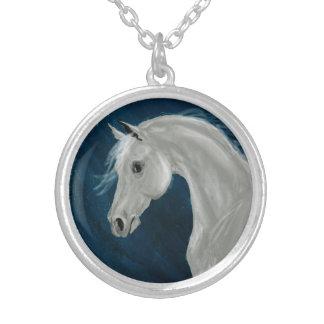Gray Arabian Necklace