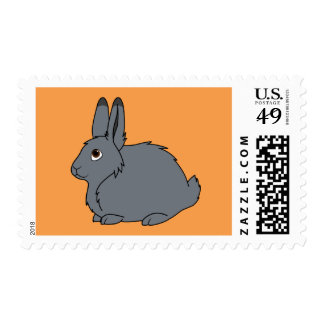 Gray Arctic Hare Stamp
