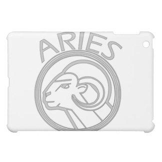 Gray Aries the Ram Horoscope Sign  iPad Mini Cover